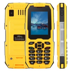 "[IT] Snopow M2 Plus DUAL SIM 3G 4G 2,4"" 1GB + 8GB IMPERMEABILE IP68 RESISTENTE RUGGED (Giallo)"